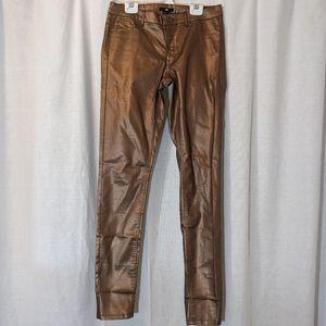 H&M NWT Metallic Pants Sz 8